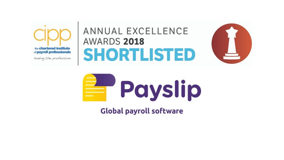 Chartered Institute of Payroll Professionals Announce Payslip As Software Product of The Year Finalist