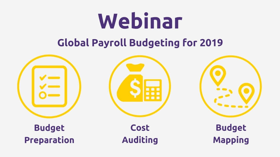 Webinar: Global Payroll Budgeting for 2019