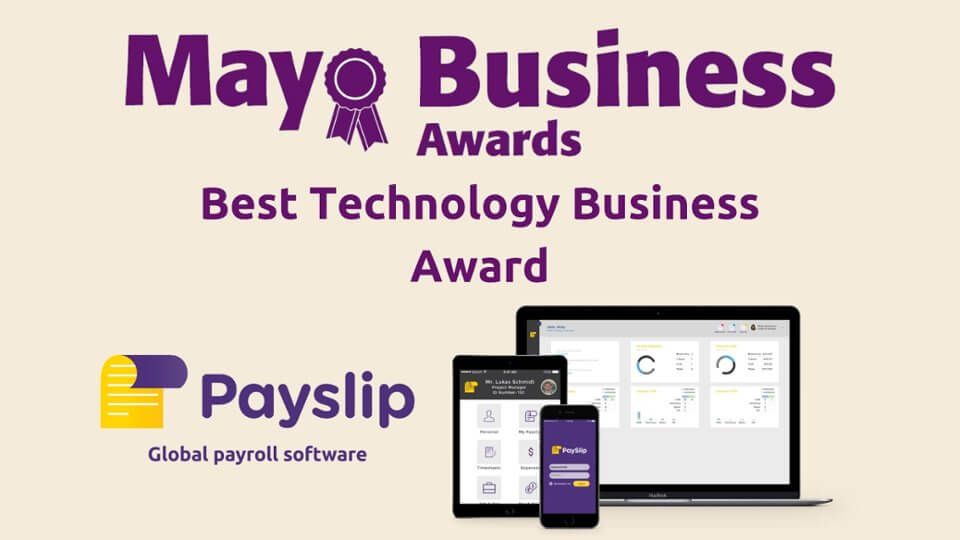 Mayo Business Awards Announce Payslip As Best Technology Business Award Finalist