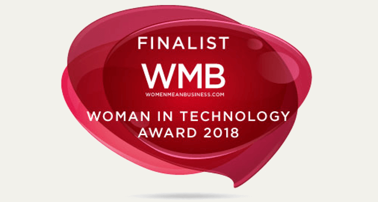 Payslip founder named Finalist at the Women Mean Business: Women in Technology Award 2018