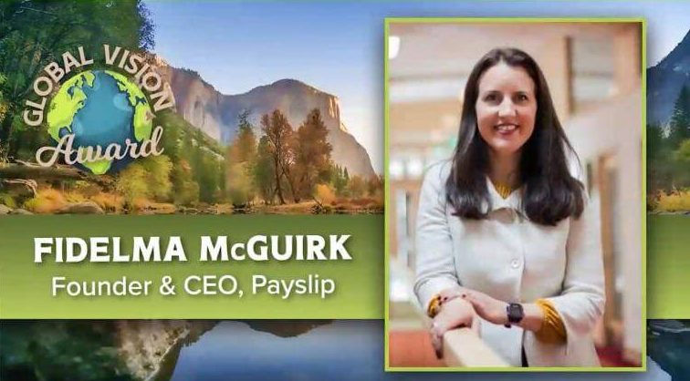 Payslip CEO wins GPMI Global Vision Award