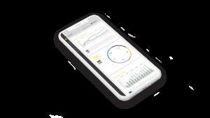 Reporting screen single mobile phone